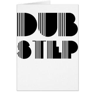 Dubstep Classic Greeting Card