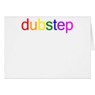 Dubstep Color Spectrum Greeting Cards