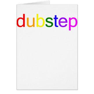 Dubstep Color Spectrum Greeting Card