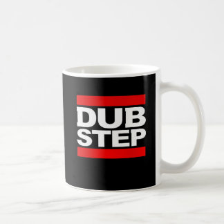 DUBSTEP dance-dubstep rave-dubstep remix Basic White Mug