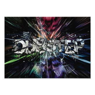 dubstep design photo print