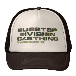 "Dubstep Division Clothing ""Camou"" Mesh Hat"