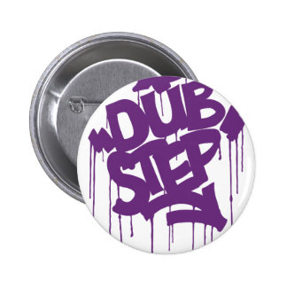 Dubstep FatCap Kush Purple 6 Cm Round Badge