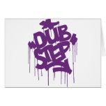Dubstep FatCap Kush Purple Greeting Card