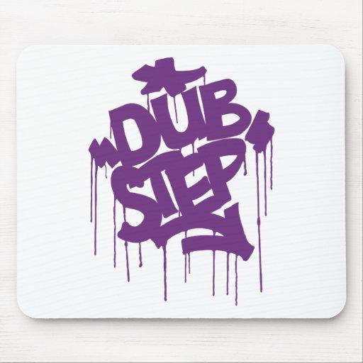 Dubstep FatCap Kush Purple Mouse Pad