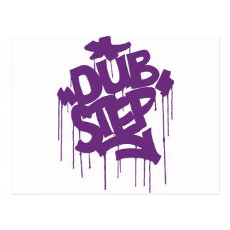 Dubstep FatCap Kush Purple Postcard