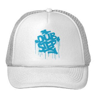 Dubstep FatCap Sky Blue Trucker Hat