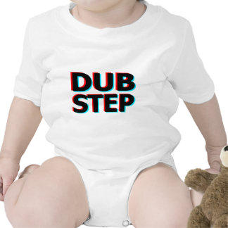 Dubstep Filthy dub step bass techno wobble Baby Bodysuits