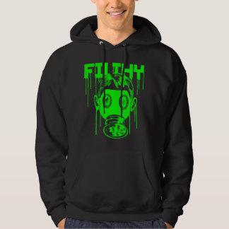 Dubstep Filthy Gas Mask Hoodie