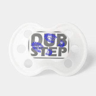 Dubstep foot stomp design pacifier