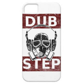 Dubstep gas mask & headphones iPhone 5 covers
