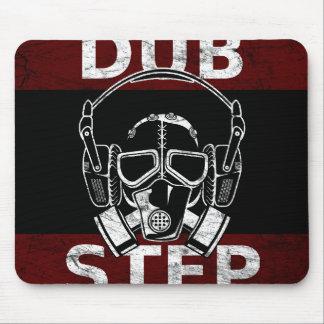 Dubstep gas mask & headphones mouse mat