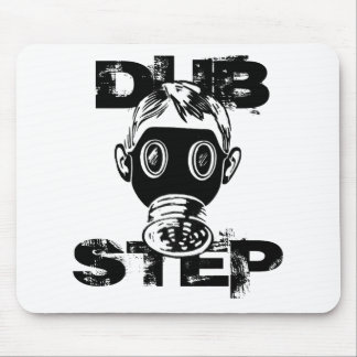 Dubstep Gas Mask Mouse Pad