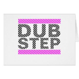 Dubstep Girls Pink Greeting Card