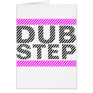 Dubstep Girls Pink Greeting Cards