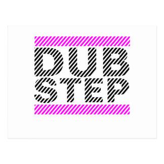 Dubstep Girls Pink Postcard