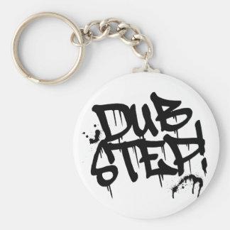 Dubstep Graffiti Style Key Ring