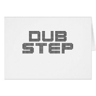 Dubstep Greeting Card