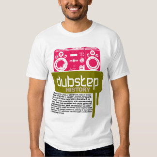Dubstep History  t-shirt (NEW)