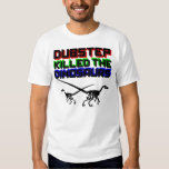 Dubstep Killed the Dinosaurs 2 T-shirts