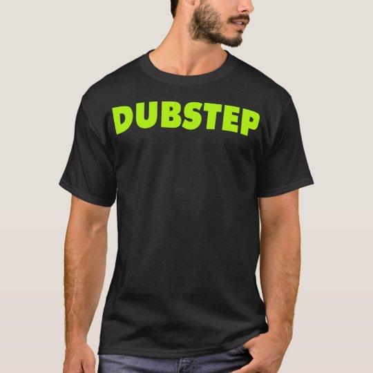 Dubstep ( Lime ) Black T-Shirt