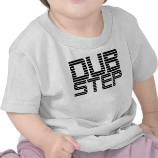 Dubstep Lined Text T-shirts