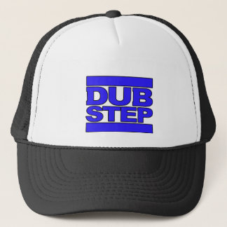 DUBSTEP Logo blue Trucker Hat