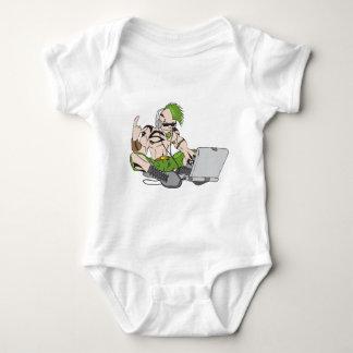 dubstep MACK Infant Creeper
