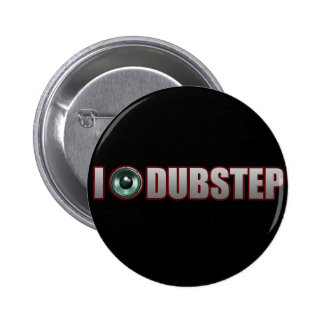 DUBSTEP MUSIC 6 CM ROUND BADGE