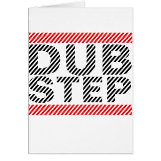 Dubstep Music Greeting Card