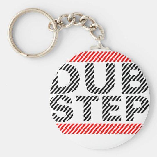 Dubstep Music Key Ring