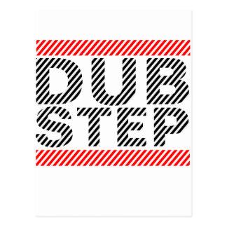 Dubstep Music Postcard