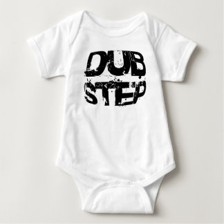 Dubstep Music Text Baby Bodysuit