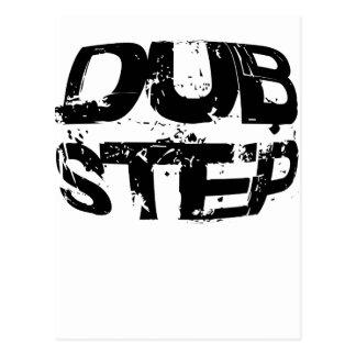 Dubstep Music Text Postcards