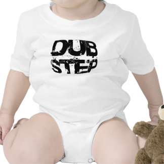 Dubstep Music Text Baby Bodysuits