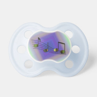 Dubstep Notes Pacifier