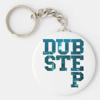 Dubstep NYC Basic Round Button Key Ring