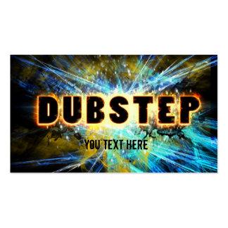 dubstep power business card templates