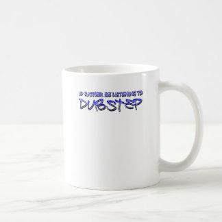 Dubstep remix- Dubstep music-download dubstep Basic White Mug