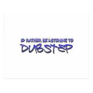 Dubstep remix- Dubstep music-download dubstep Postcard