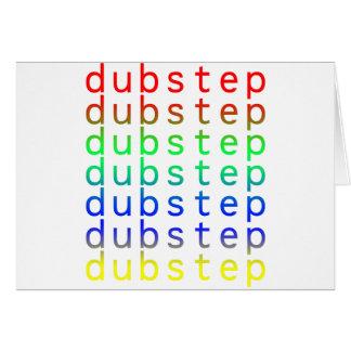 Dubstep Text Color Spectrum Cards
