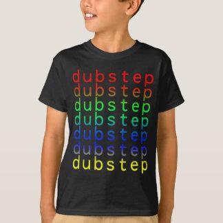 Dubstep Text Color Spectrum T-shirt