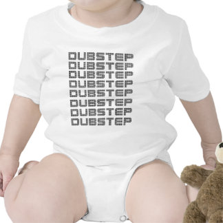 Dubstep Text Rompers