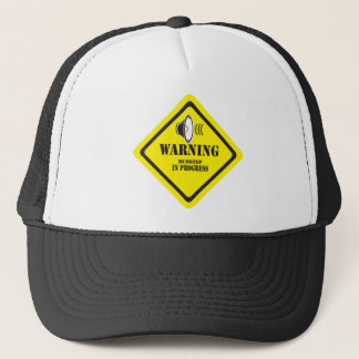 Dubstep Warning Trucker Hat