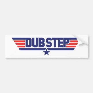 Dubstep (Wings & Star) Bumper Sticker