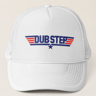 Dubstep (Wings & Star) Trucker Hat