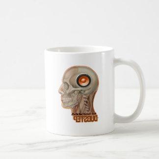 Dubstep woofer brain basic white mug