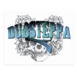 Dubsteppa Skull Postcard