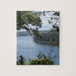 Dubuque Iowa from the Mississippi River Jigsaw Puzzle