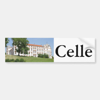 Ducal Palace in Celle Bumper Sticker